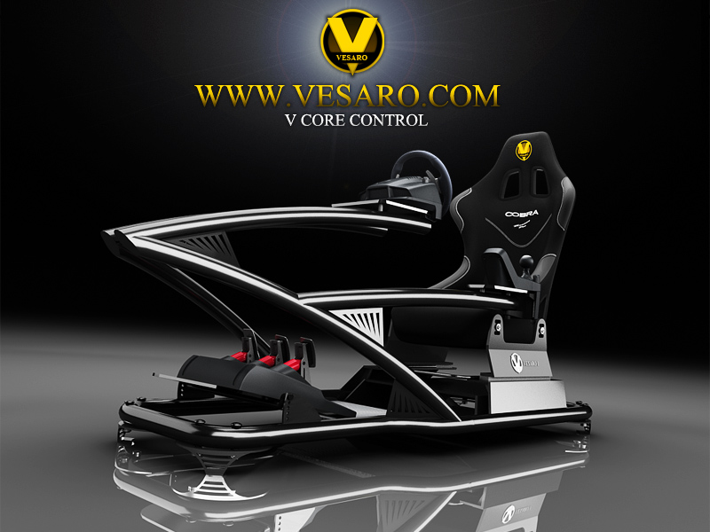 Xbox Racing Seat 171 Vesaro