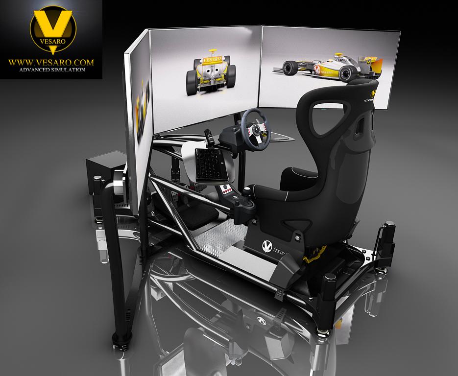 Triple Monitor Setup « Vesaro