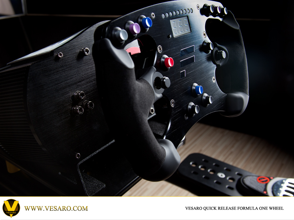 Fanatec Formula Rim Clubsport EU Wheel Base For Vesaro Simulators