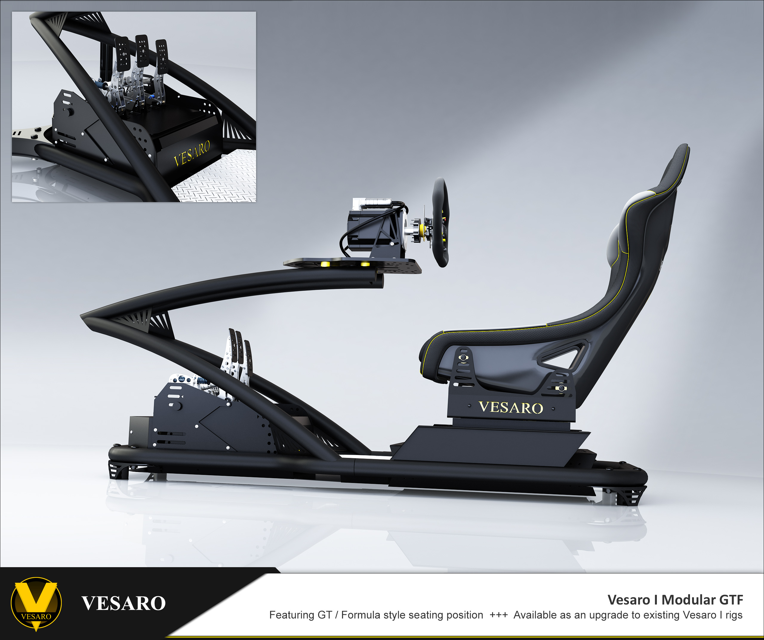 Racing Simulation Seat « Vesaro