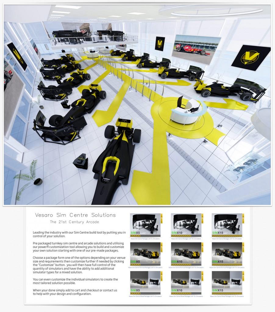 Racing Sim Centre Solutions