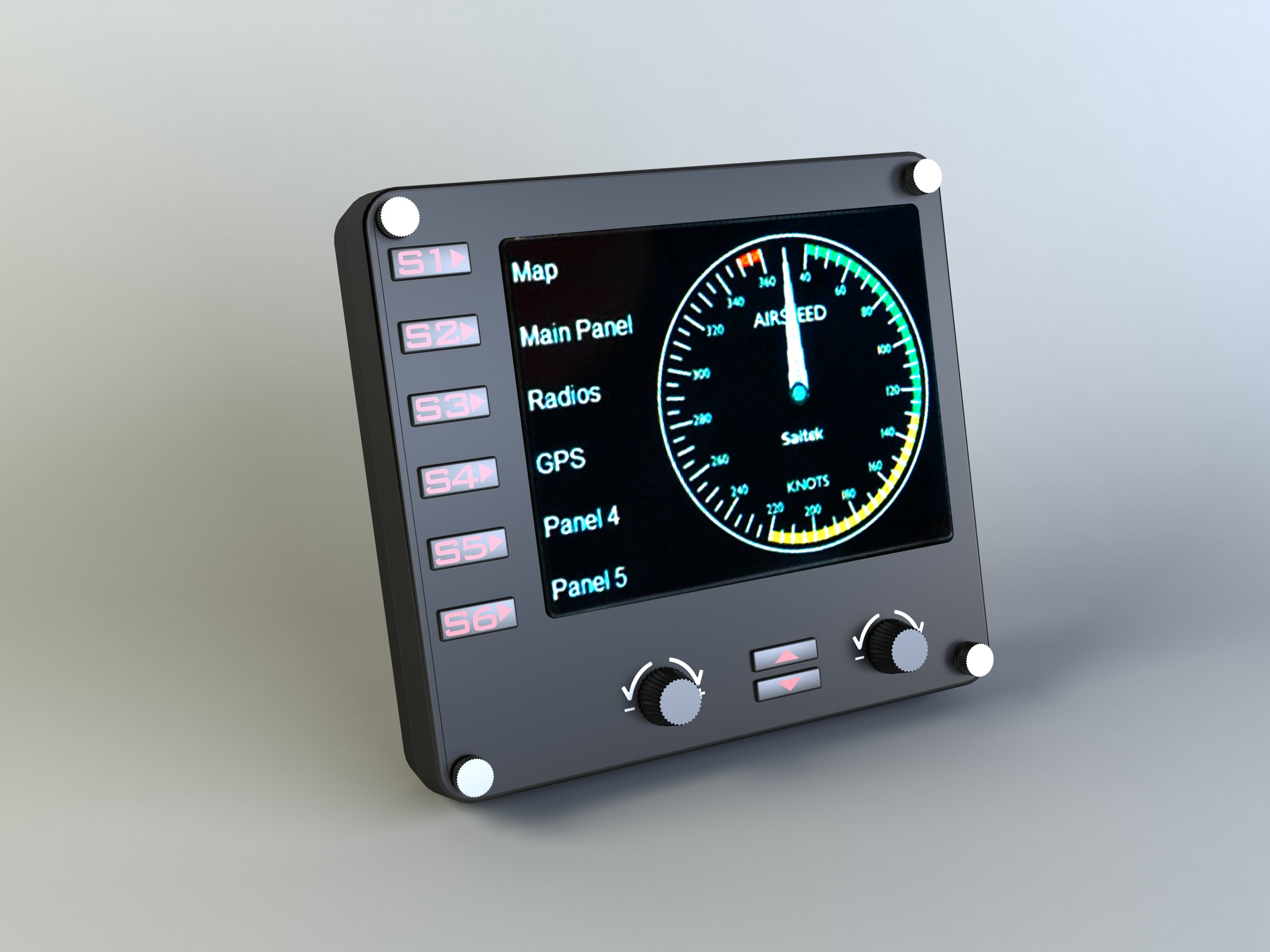 Flight Controls - Instrument Panel