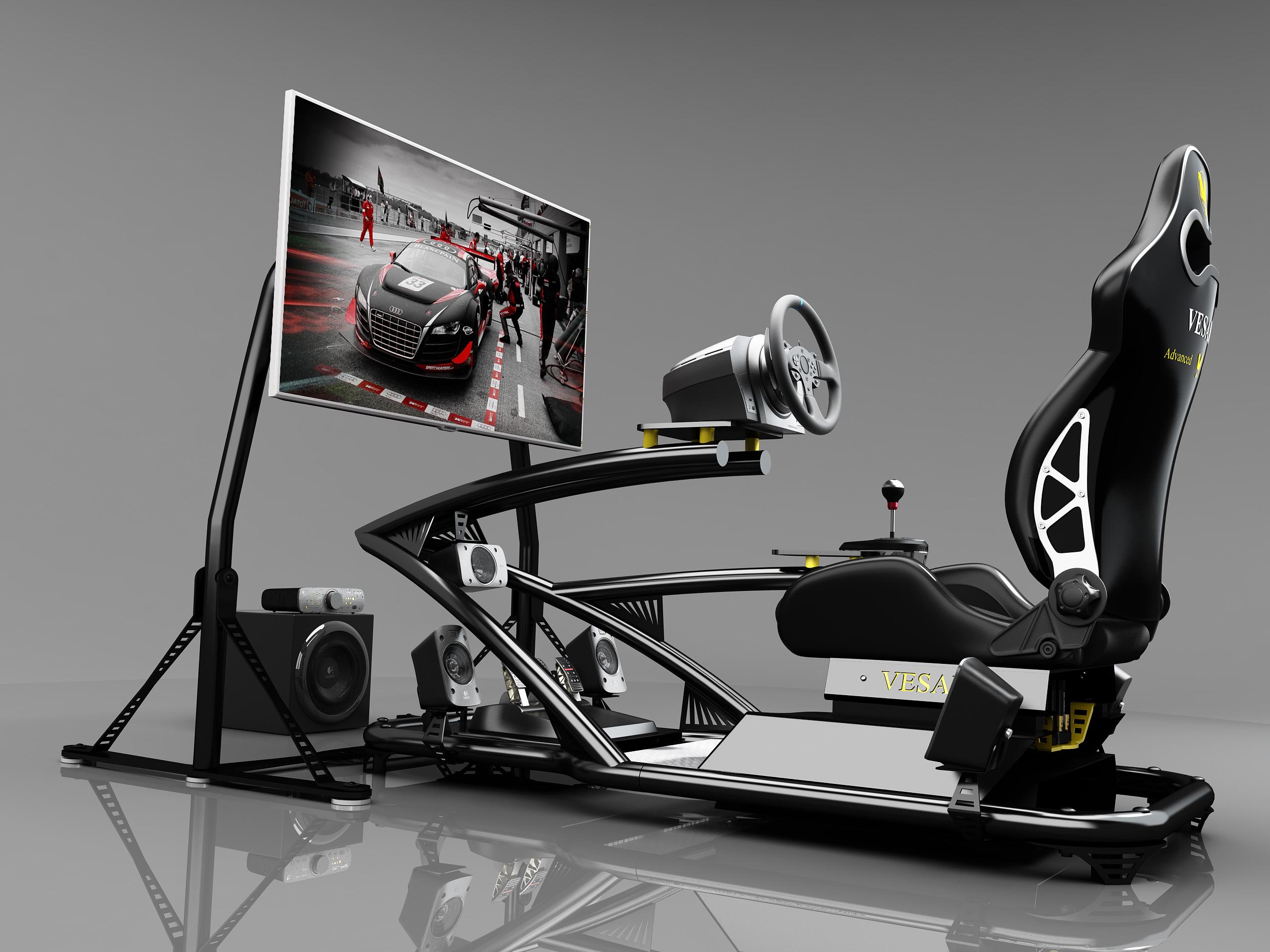 vesaro i gamer stage 5. Black Bedroom Furniture Sets. Home Design Ideas