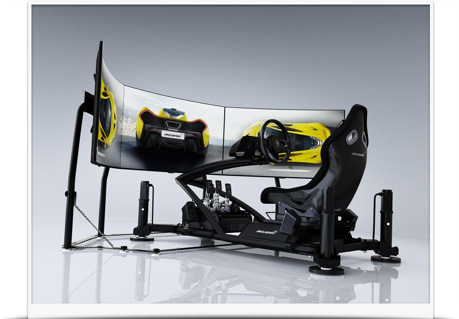 mclaren driving simulators. Black Bedroom Furniture Sets. Home Design Ideas