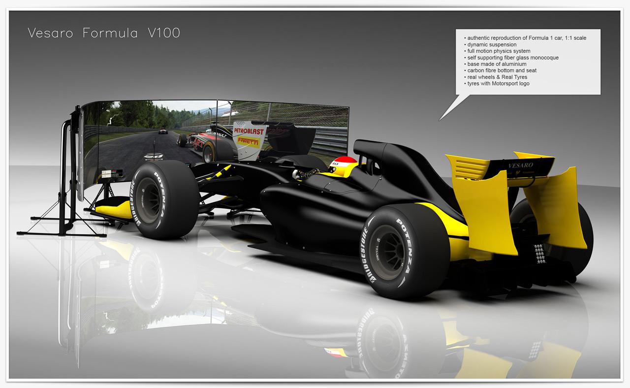 Vesaro Advanced Simulation Racing Flight And Game Simulators Motion Simulation And